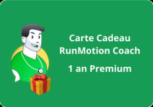 carte cadeau RunMotion
